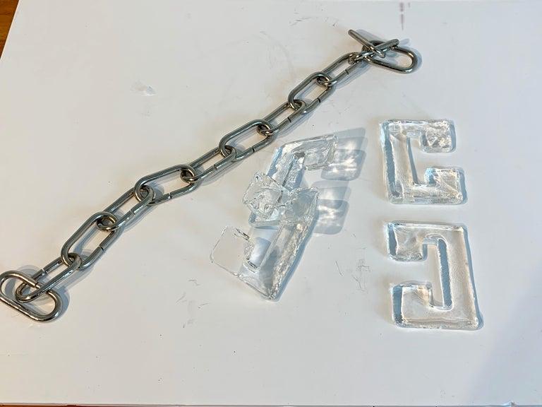 Carlo Nason Mazzega Murano Glass Chandelier For Sale 8