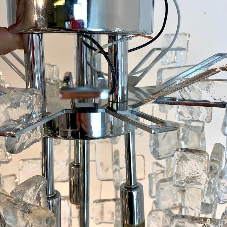 Carlo Nason Mazzega Murano Glass Chandelier For Sale 1