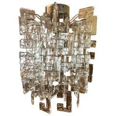 Carlo Nason Mazzega Murano Glass Chandelier