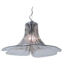 Carlo Nason Mazzega Pendant Lamp for J.T. Kalmar in Murano Glass, 1970s