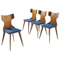 Carlo Ratti Wingback Dining Chairs