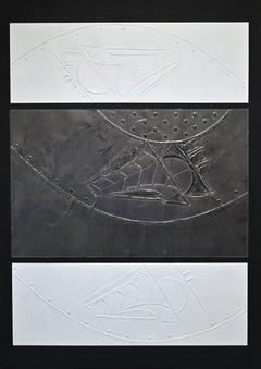 Into the Space - Original Artwork by Carlo Scarpa - 1970s