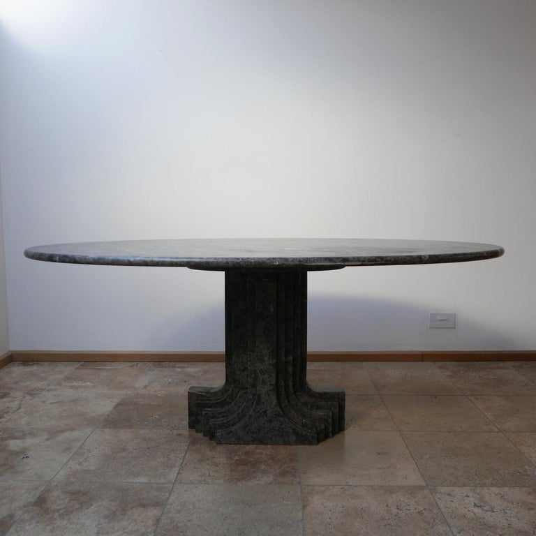 Carlo Scarpa 'Argo' Italian Mid-Century Marble Dining Table For Sale 6