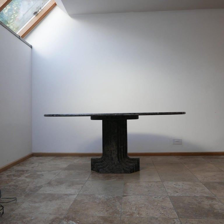 Carlo Scarpa 'Argo' Italian Mid-Century Marble Dining Table For Sale 7