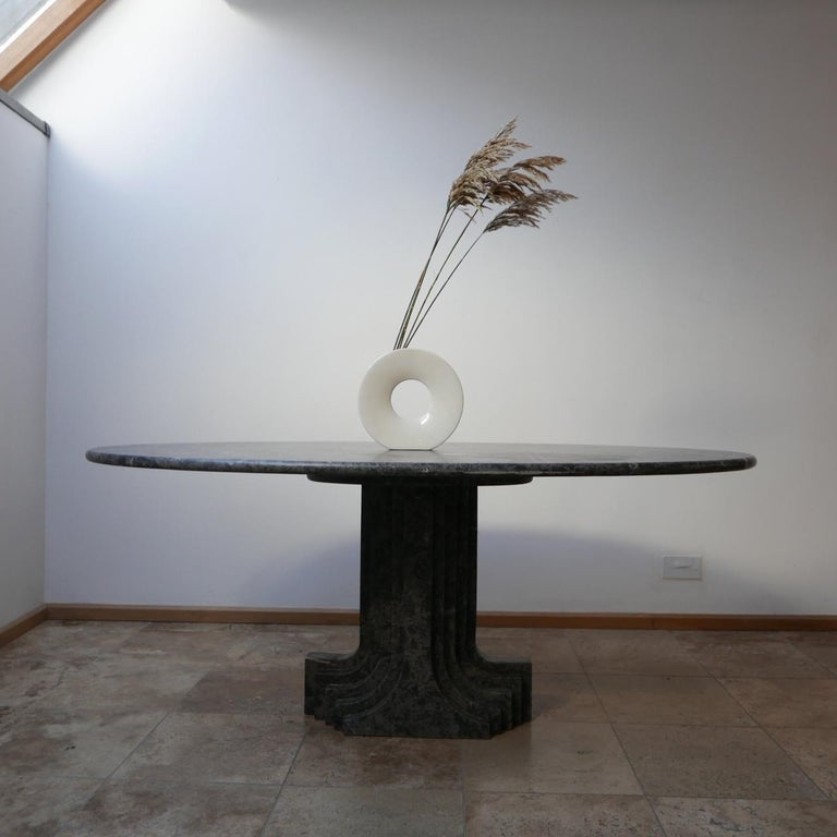 A scarce marble table by Carlo Scarpa.