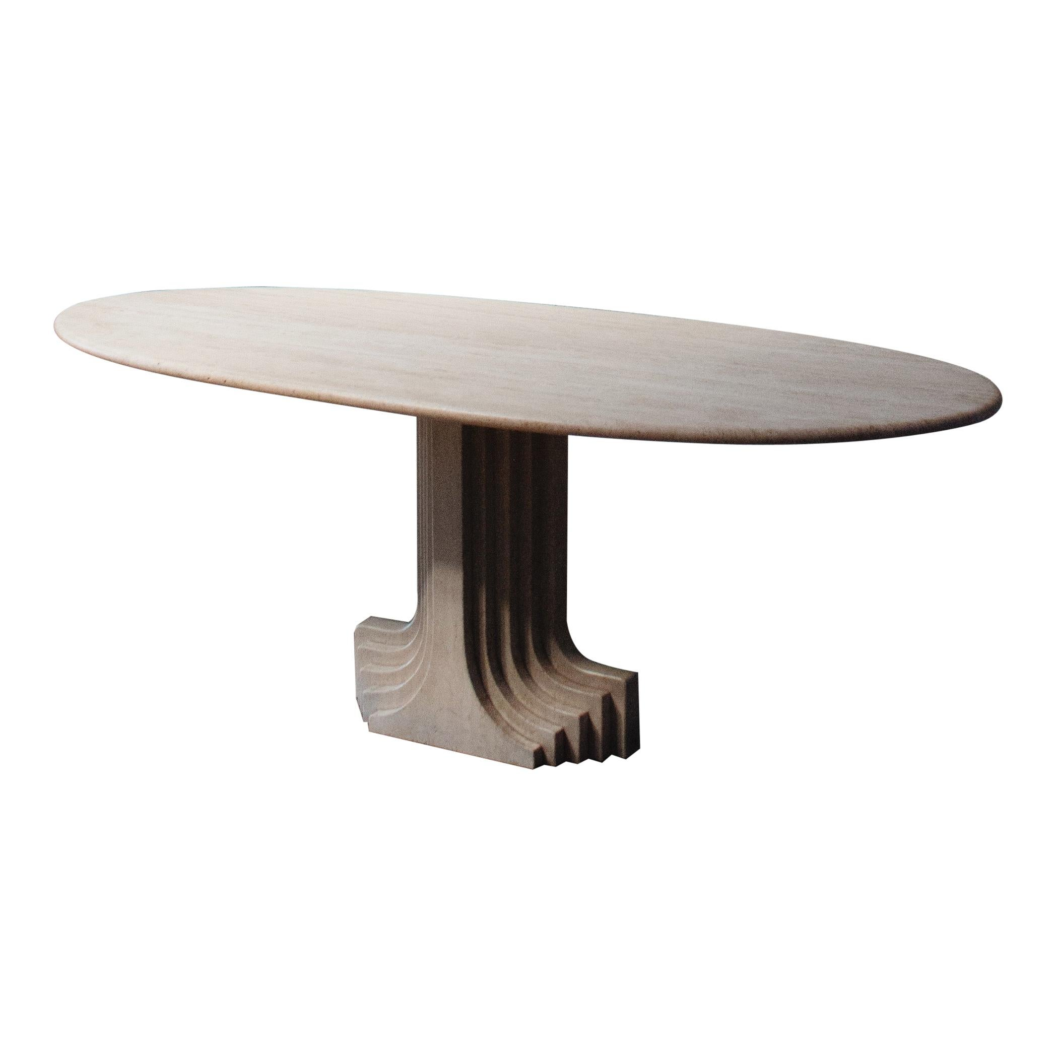 "Carlo Scarpa ""Argo"" Oval Table for Simon, 1975"