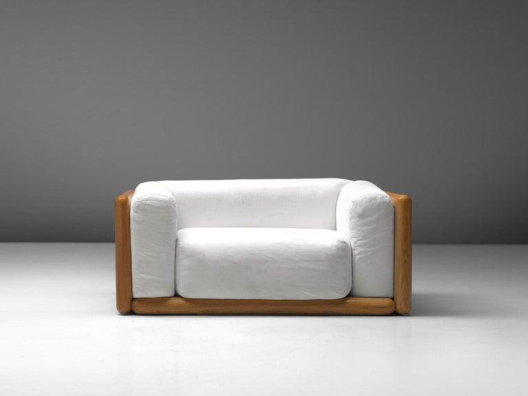 Mid-Century Modern Carlo Scarpa 'Cornaro' Lounge Chair for Simon, 1973 For Sale