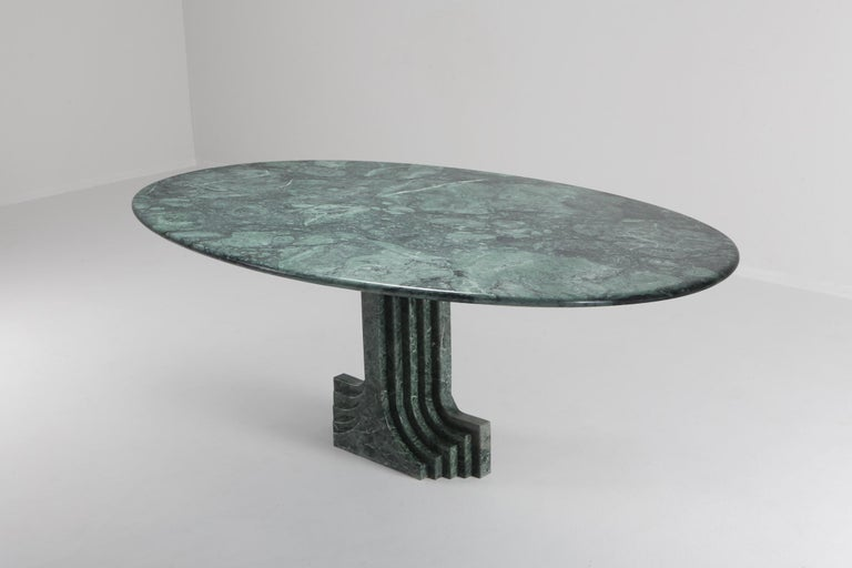 Carlo Scarpa 'Samo' table, produced by Simon, Italy, 1970s. 