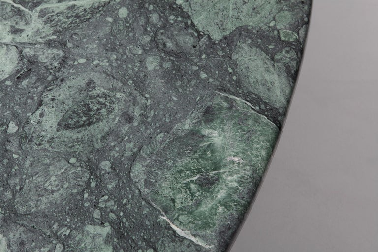 Carlo Scarpa Dining Table 'Samo' in a Rare Green Marble For Sale 2