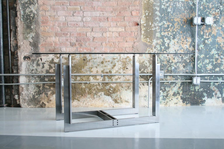 Carlo Scarpa Doge Dining Table for Simon Gavina In Excellent Condition For Sale In Chicago, IL