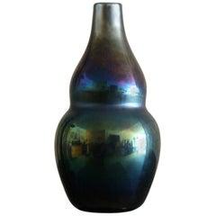 Carlo Scarpa Iridescent Vase for Venini, Murano, circa 1936