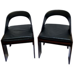 Carlo Scarpa Pair of Mod.618 Chairs