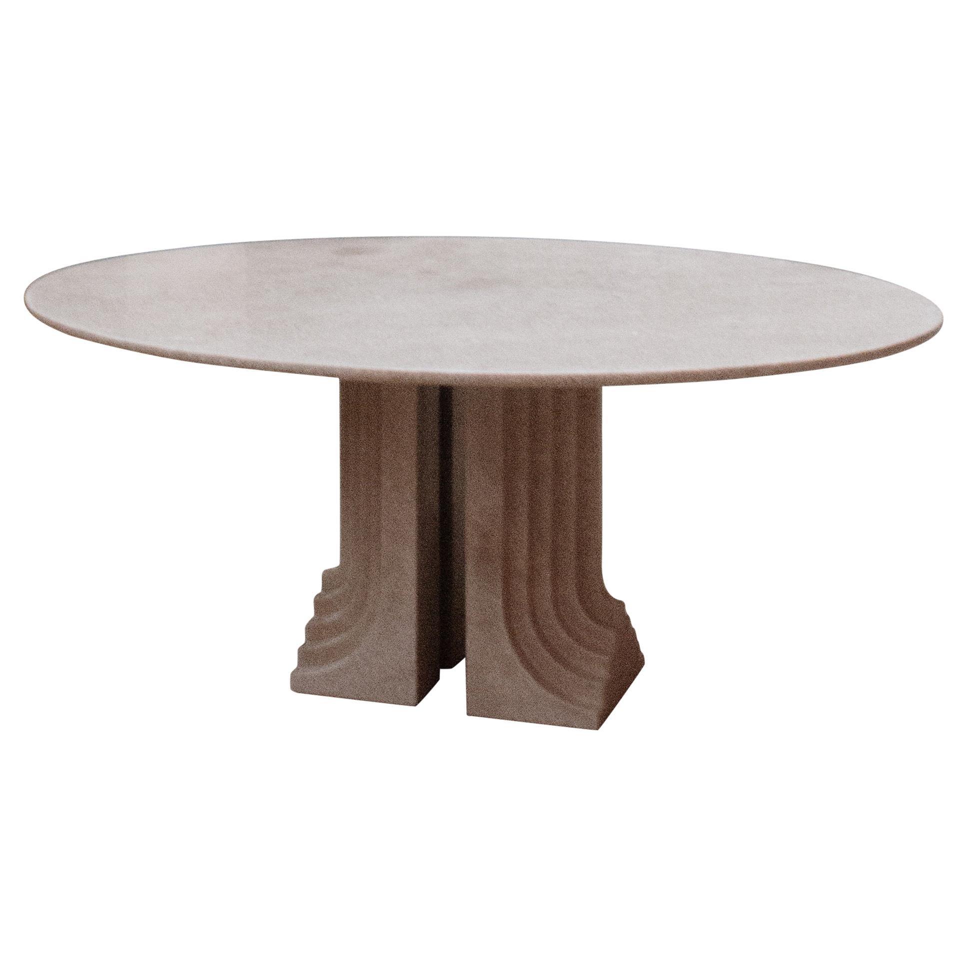 """Carlo Scarpa """"Samo"""" Oval Table for Simon Gavina in Granite, 1971"""