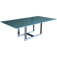 "Carlo Scarpa "" Sarpi "" Dining Table for Cassina"