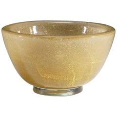 Carlo Scarpa 'Vetro Sommerso' Glass Bowl for Venini, circa 1934