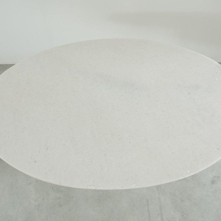 Carlo Scarpa White Naxos Marble Samo Table for Simon, Italy, 1970 For Sale 3