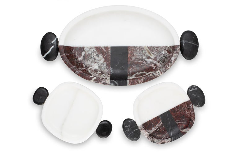 Modern Carlo Small Plate by Matteo Cibic For Sale