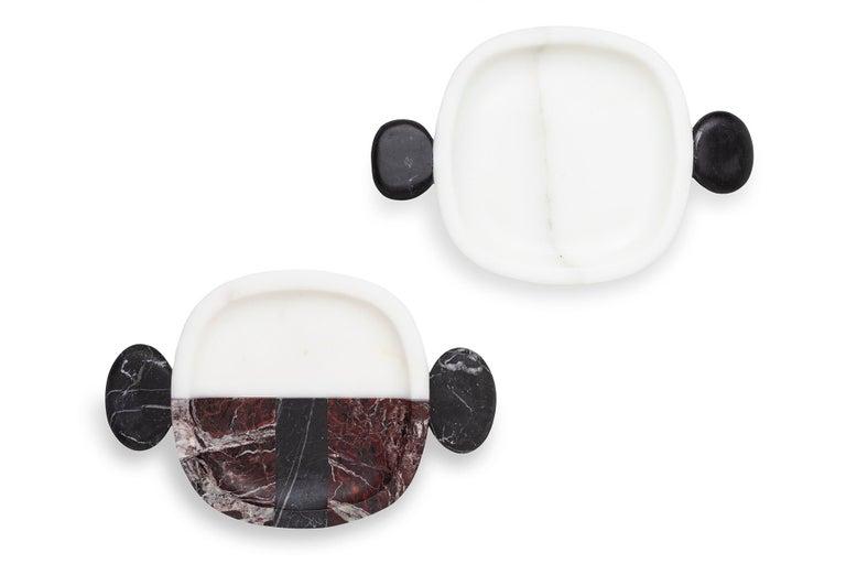 Italian Carlo Small Plate by Matteo Cibic For Sale