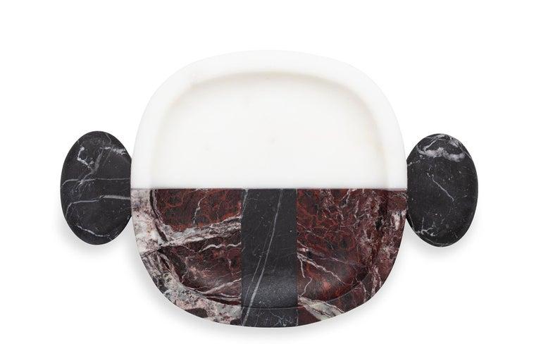 Contemporary Carlo Small Plate by Matteo Cibic For Sale