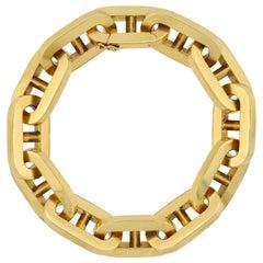Carlo Weingrill Vintage Mariner Link Bracelet 46.00 Grams