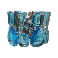 Carlo Zini Aqua Rigid Bracelet