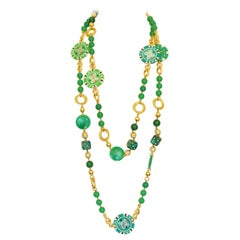 Carlo Zini Casino Long Necklace