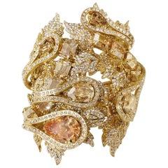 Carlo Zini Champagne Maxi Bracelet