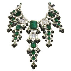 Carlo Zini Emeralds Maxi Collier