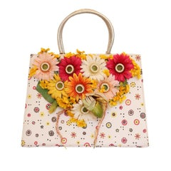 Carlo Zini Floral Jewel Bag