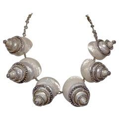 Carlo Zini Marine Shells Collier