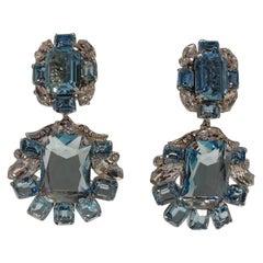 Carlo Zini Milano Aquamarine Earrings