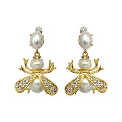 Carlo Zini Milano Bees Earrings