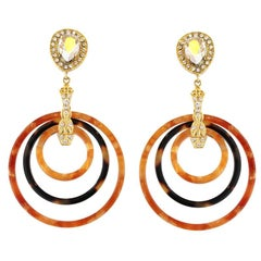 Carlo Zini Milano Circles Earrings