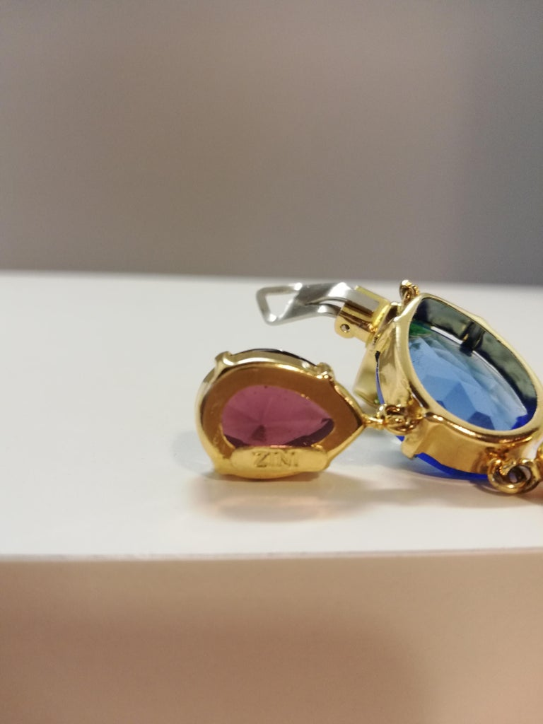 Women's Carlo Zini Milano Crystal Earrings For Sale