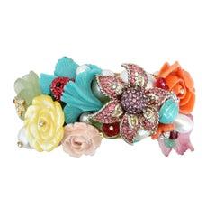 Carlo Zini Milano Floral Bracelet