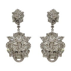 Carlo Zini Milano Lions Earrings