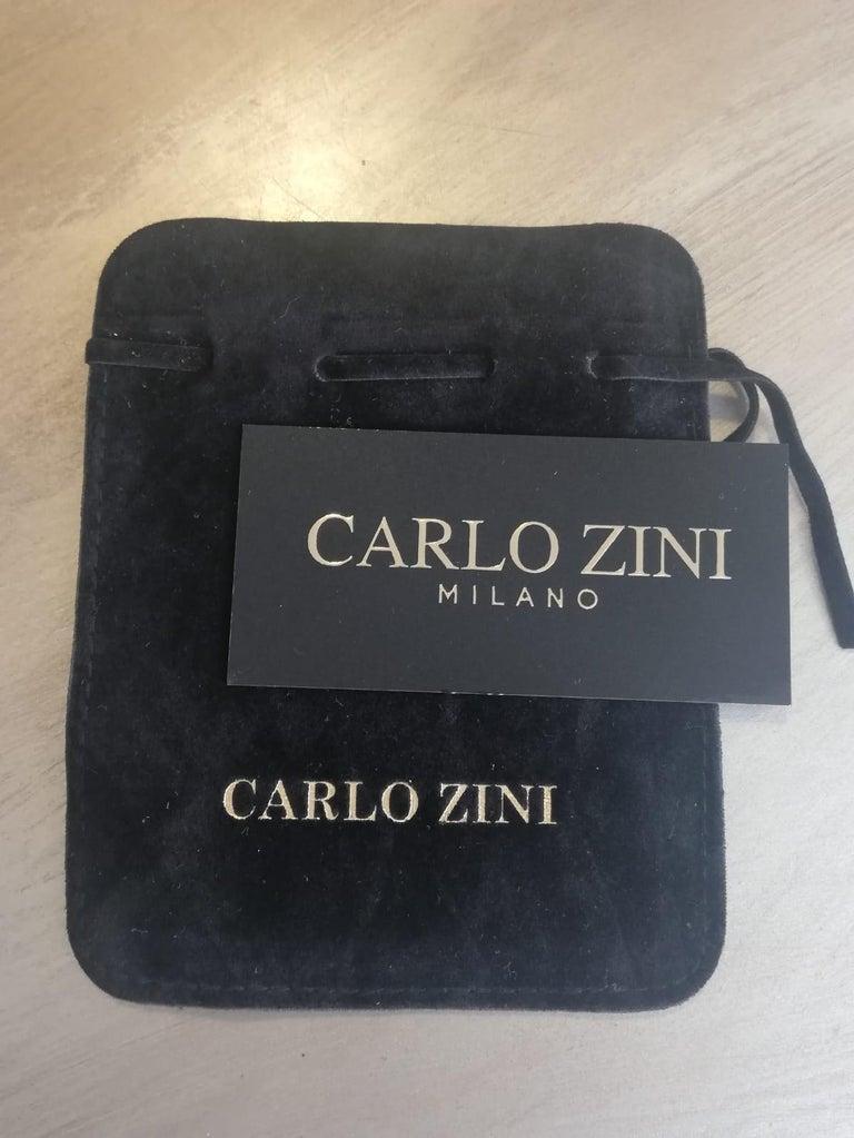 Carlo Zini Milano Pearl Earrings For Sale 1
