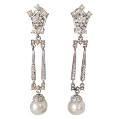 Carlo Zini Milano Pearl Earrings