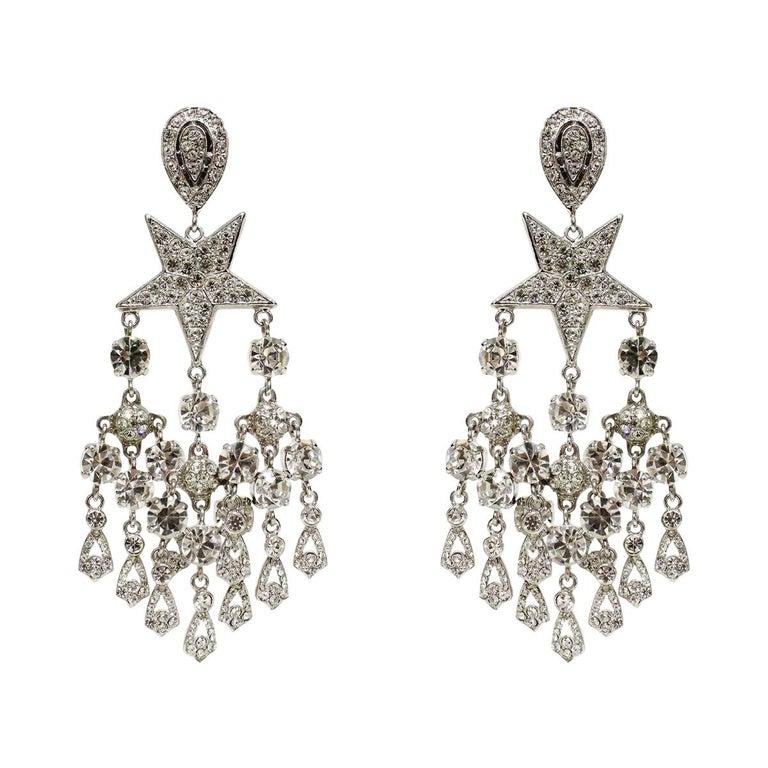 Carlo Zini Milano Stars Earrings For Sale