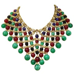 Carlo Zini Multicolored Boules Necklace