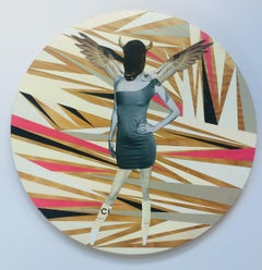 Untitled No. 11, Mixed Media on Wood