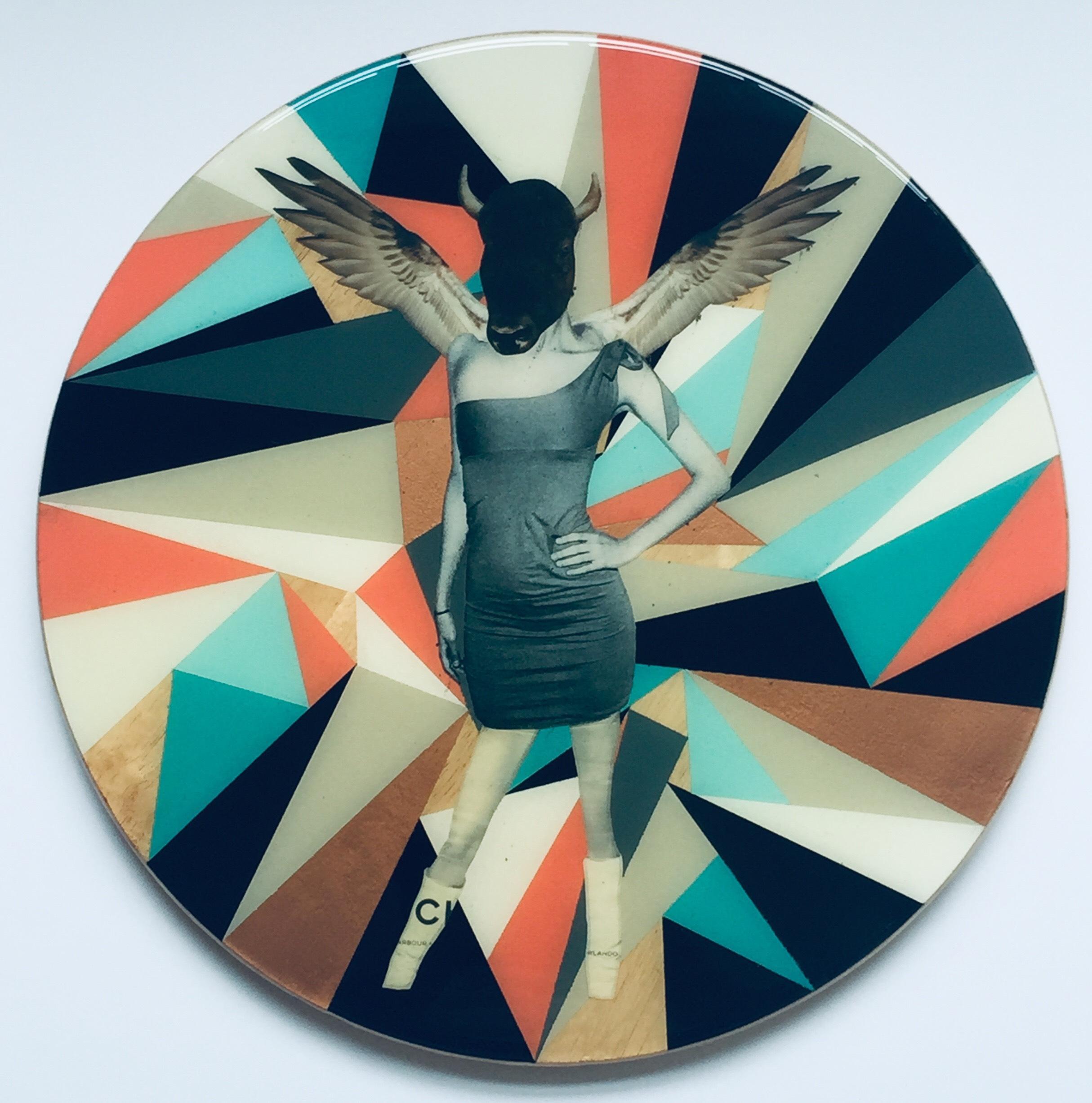 Untitled No. 9, Mixed Media on Wood