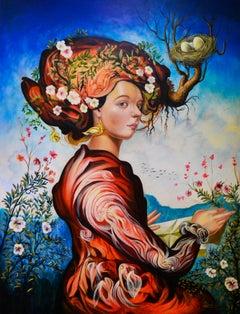 Cuban Contemporary Art by Carlos Antonio Sablon - A Madame de Montespan