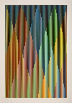 Couleur Additive Perseus - 21st Century, Carlos Cruz-Diez, Optical Art