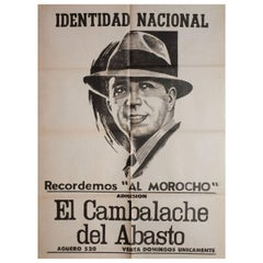 Carlos Gardel 1930s Argentine Poster