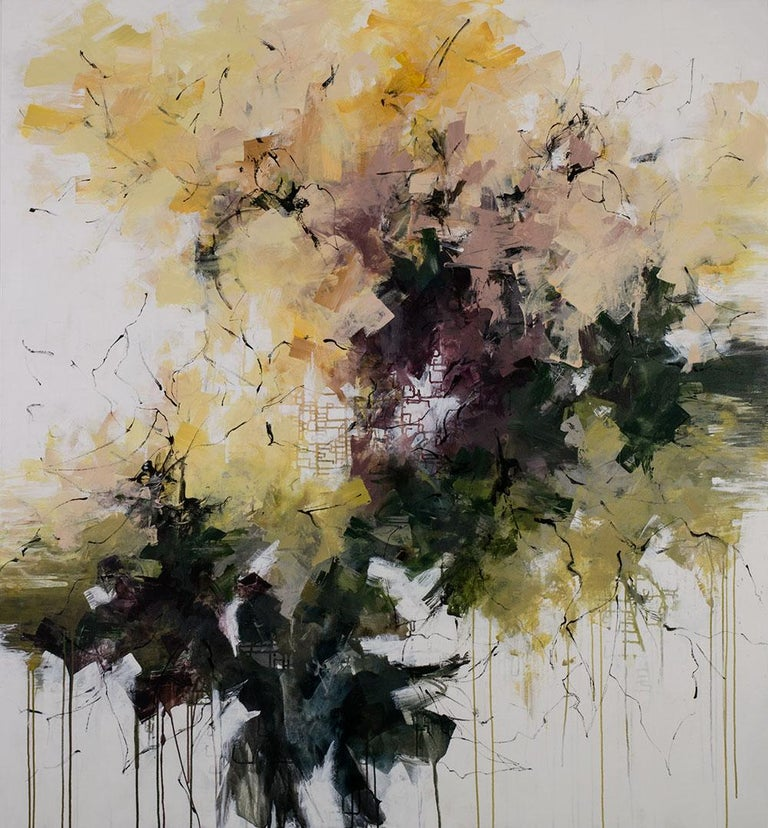 Carlos Ramirez Landscape Painting - The Frangipani Tree