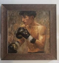 Looking to Paris, Olympics 2024, Emerging Artist, Boxing, Steven Navarro