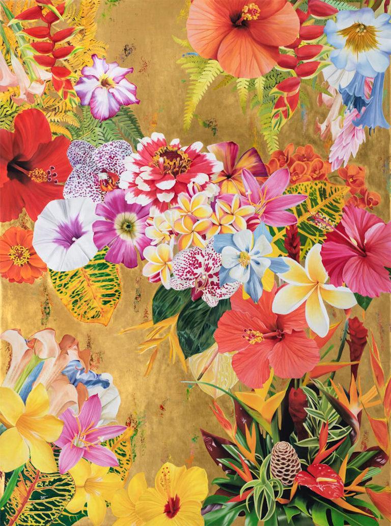 Gild The Lily I - Print by Carlos Rolón