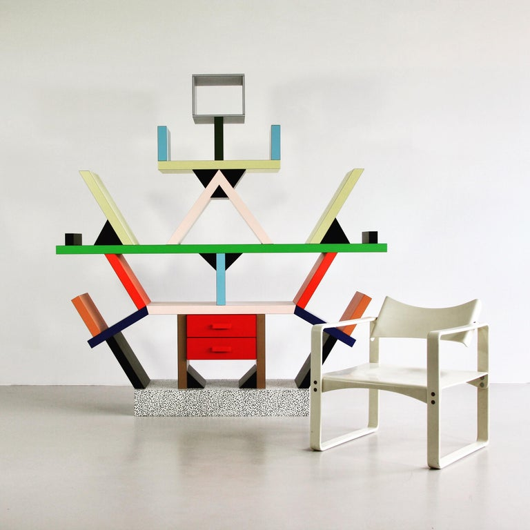 Laminate Carlton Designed by Ettore Sottsass For Sale