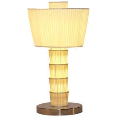 Carlton Silk Desk Table Lamp Woka Art Collection